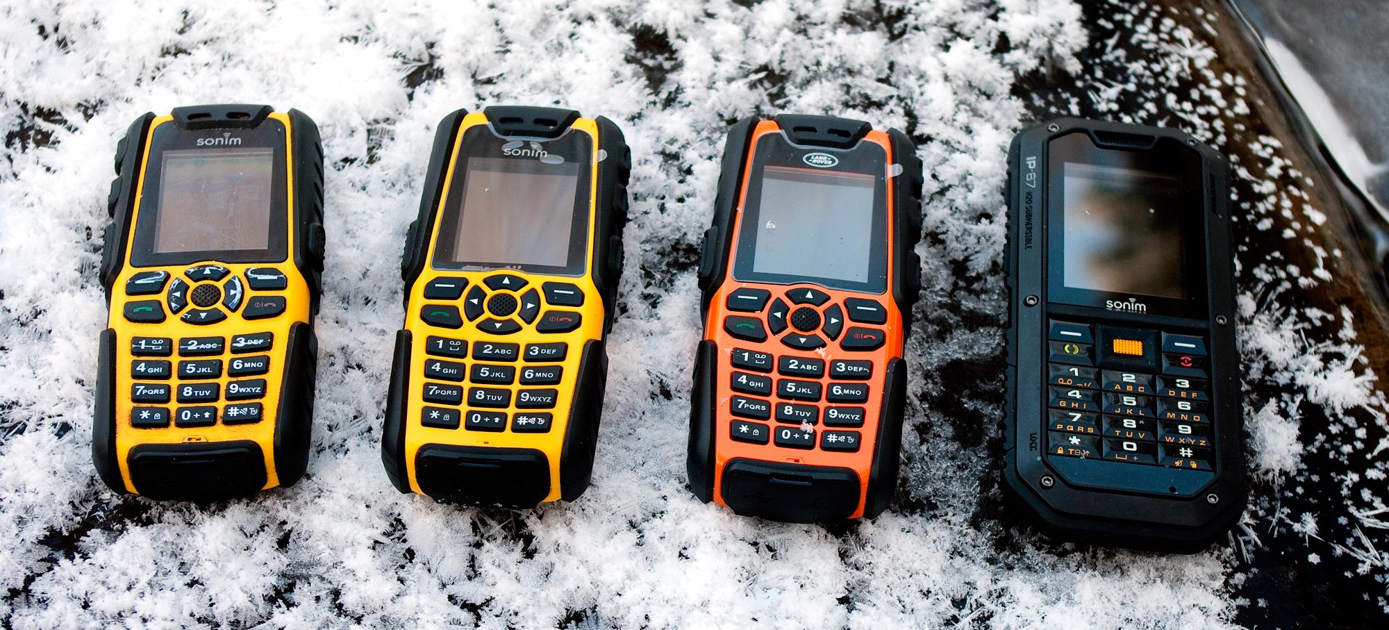 7911e70b8cc Sonimi mobiiltelefonid – läbi jää ja vee :: Digitest