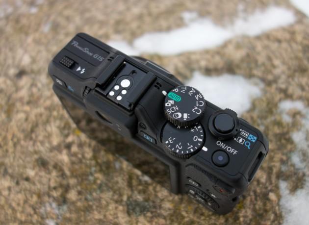 Canon PowerShot G15 pealtvaade