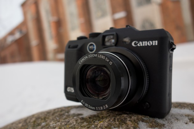 Canon PowerShot G15 eestvaade