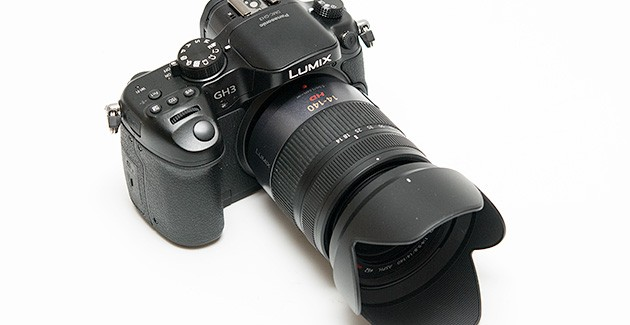 Panasonic Lumix GH3 hübriidkaamera