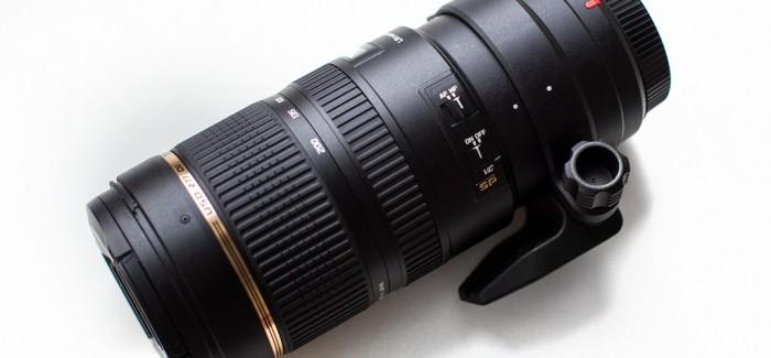Tamron 70-200mm f/2.8 VC USD suumobjektiiv