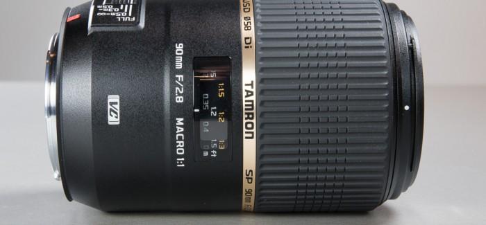 Tamron 90mm f/2.8 VC USD makroobjektiiv ja makropildistamine