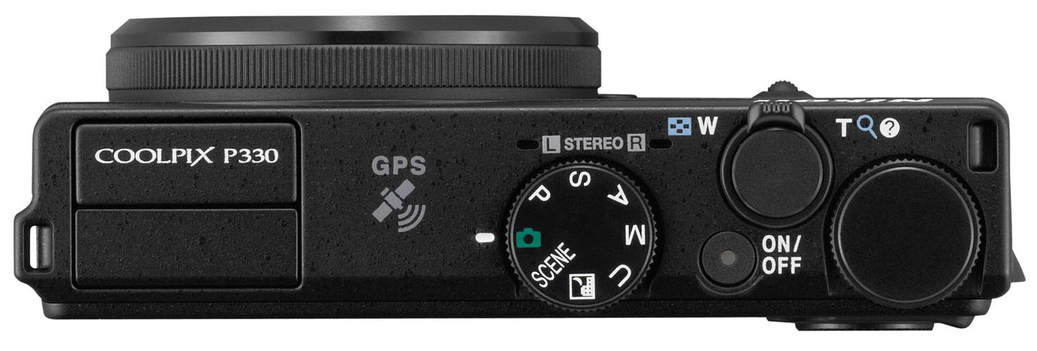 Nikon-Coolpix-P330-top