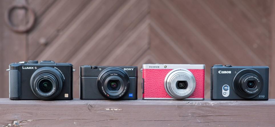 Tippklassi kompaktkaamerate võrdlusülevaade: Panasonic LX7 vs Sony RX100 vs Canon S110 vs Fujifilm XF1
