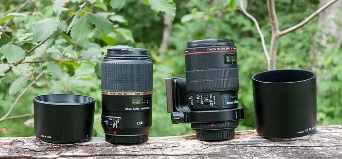Makrotorude võrdlus: Canon EF 100mm f/2.8L Macro IS USM ja Tamron 90mm f/2.8 SP Di MACRO 1:1 VC USD