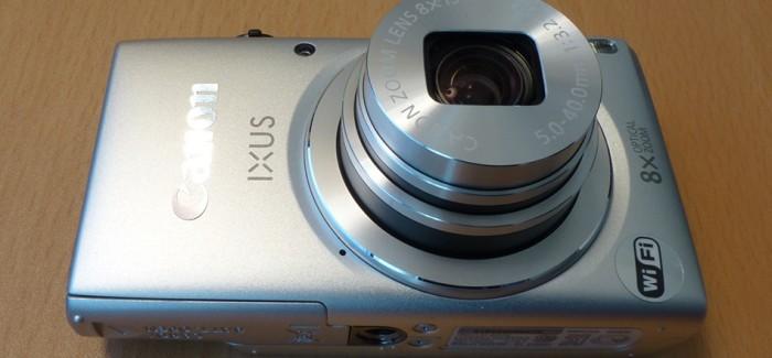 Canon Ixus 135 – elegantne kompaktkaamera
