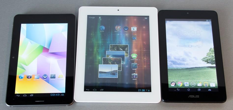 Kolm soodsat tahvelarvutit testis – Asus MeMo Pad, Prestigio MultiPad 2 Ultra Duo 8.0 ja Omega MID 7132 3G