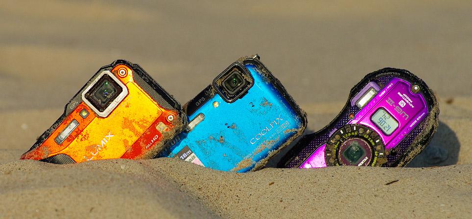 Milline on parim veekindel kompaktkaamera? Vol2: Nikon AW110 VS Panasonic FT5 VS Pentax WG-3 GPS