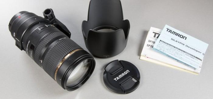 Tamron 70-200mm F/2.8 VC USD telesuumobjektiiv