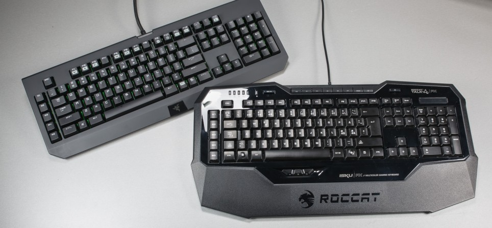 Klaviatuuride surmaheitlus: Roccat Isku FX vs Razer Black Widow Ultimate