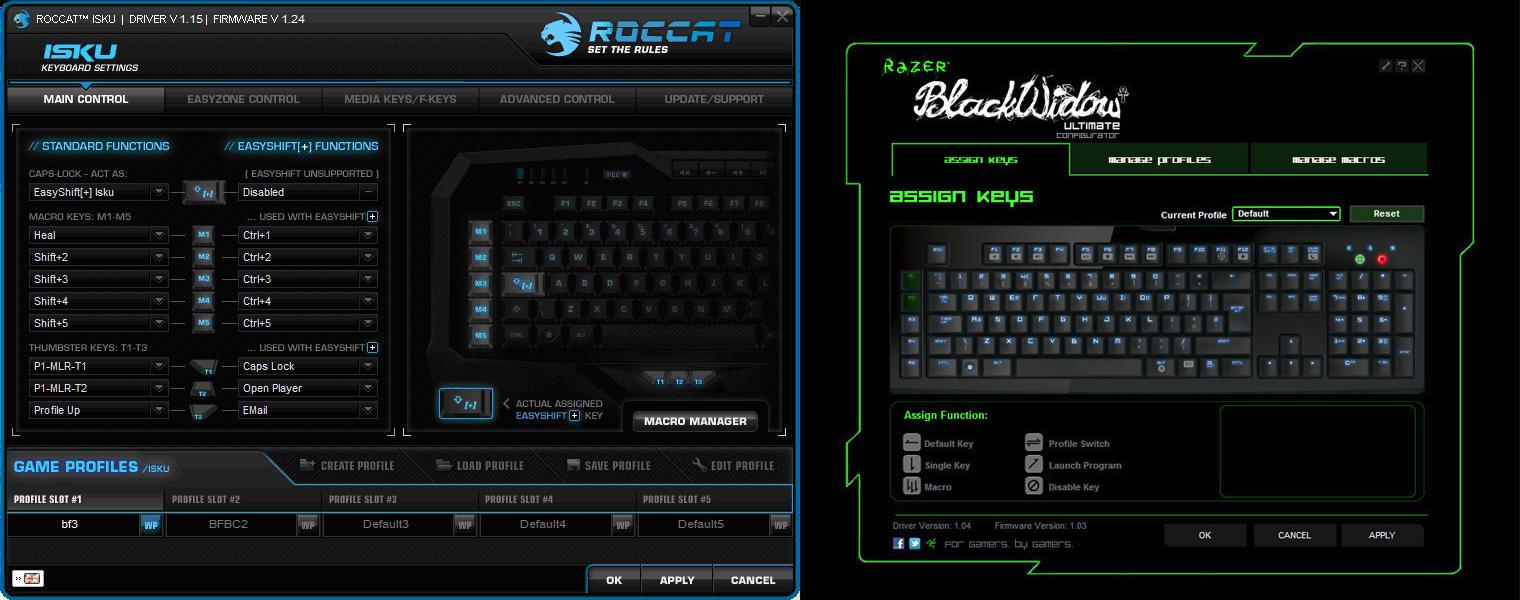 roccat-vs-razer-klaviatuurid-drivers