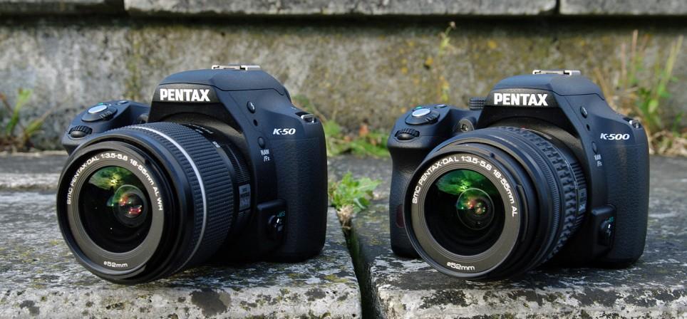 Pentaxi ühemunakaksikud: K-50 ja K-500
