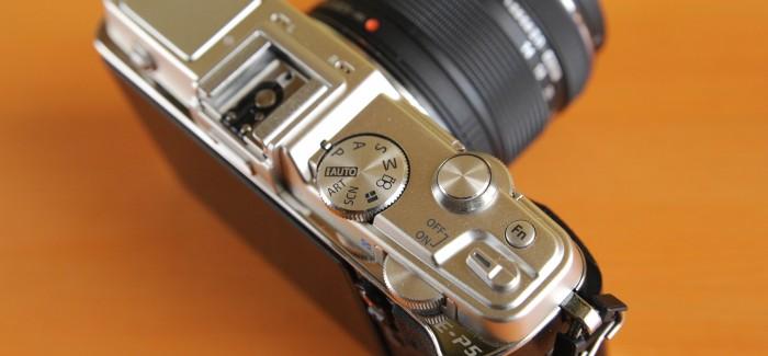 Elektrooniline Pliiats number 5 – Olympus E-P5