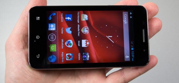Prestigio MultiPhone PAP4322 Duo luksuslik keskpärasus