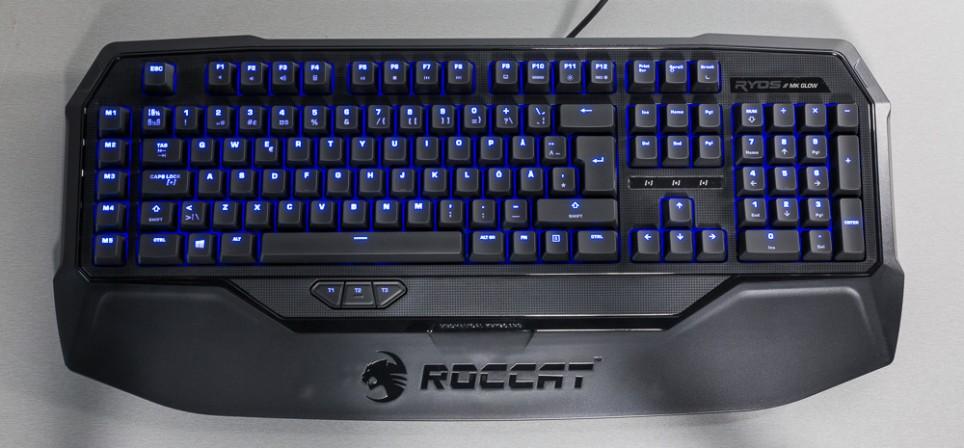 Roccat Ryos MK Glow klaviatuur – pole päris kuld, kuigi hiilgab