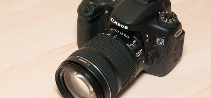 Canon EOS 70D ülevaade
