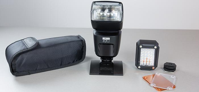 Metz 52 AF-1 + LED-160 kit – komplekt tänapäevasele peegelkaamerale