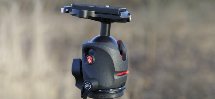 Manfrotto MH055M0-RC4 – kuulpea, mis hoiab ka suure kaamera paigas