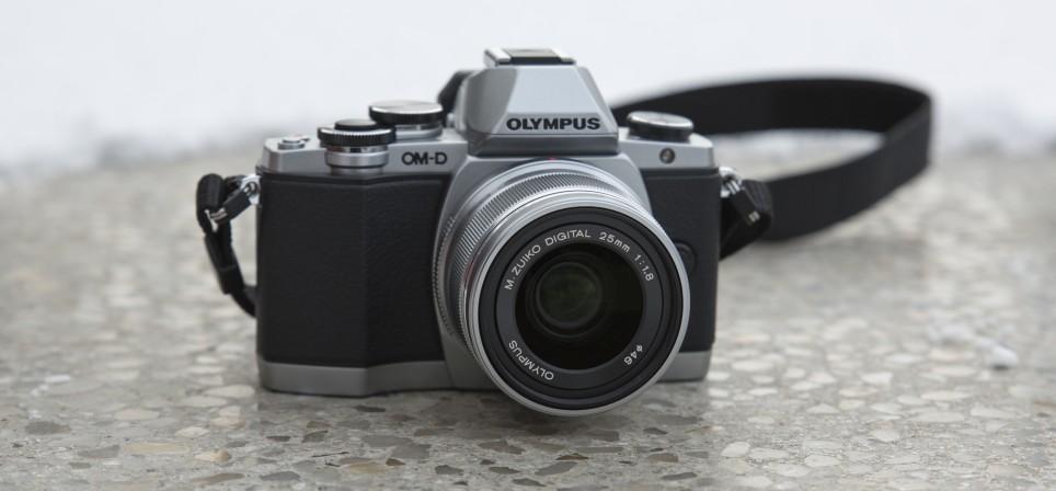 Olympus OM-D E-M10 – väike ja tubli hübriidkaamera