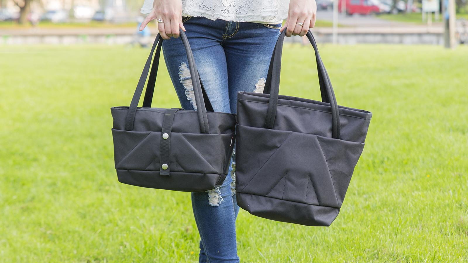 Mõlemad kotid on tegelikult täitsa mõistlikus mõõdus.