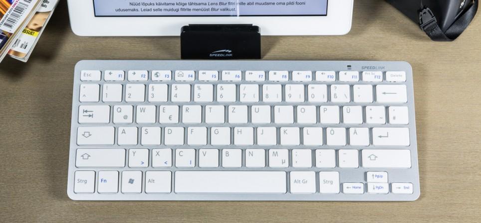 Speedlink Libera klaviatuur – sinihambuline hübriid Windowsile