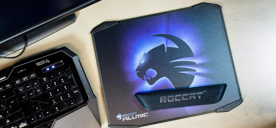 Mänguri alumiiniumist sõber Roccat Alumic