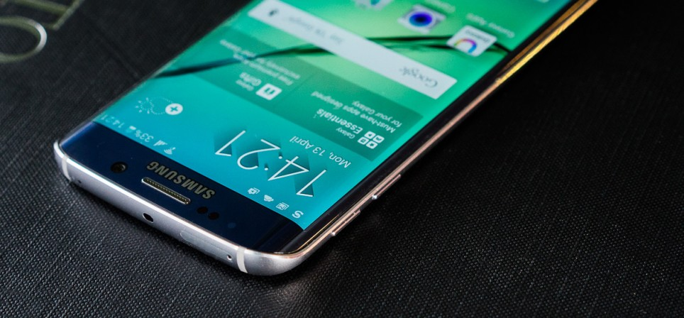 Samsung S6 Edge on kena, kuid kiiksuga