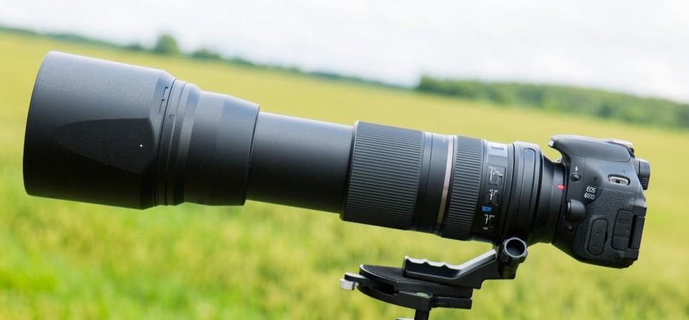 Tamron 150-600mm telesuumobjektiiv toob ka kaugeima maailma käeulatusse