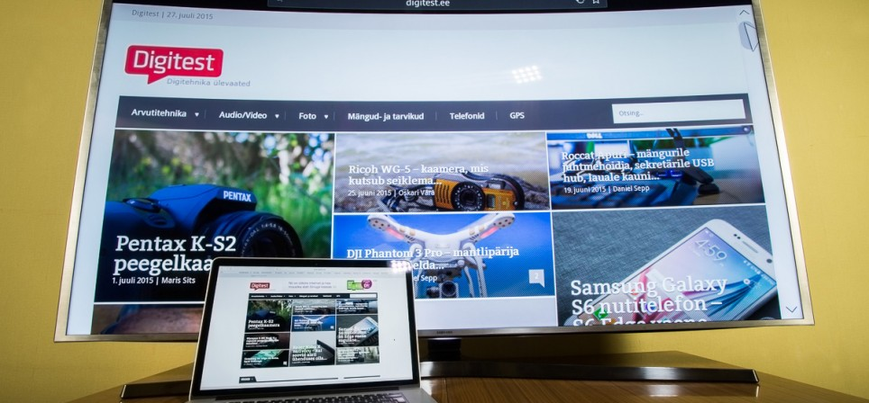 Reaalselt hea pildiga – Samsungi nõgusa ekraaniga 65″ UHD teler JS9002