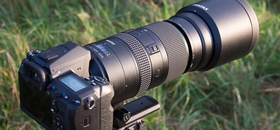 Pentax 150-450mm telesuumobjektiiv – sõbralik jõehobu