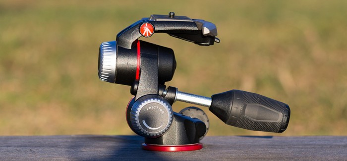 Manfrotto MHXPRO-3W 3-suunaline pea ühildab kompaktsuse ning kasutusmugavuse