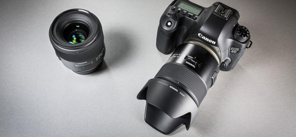Tamroni kvaliteetobjektiiv SP 45mm f/1.8 Di VC USD