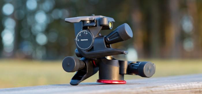 Manfrotto MHXPRO-3WG Geared statiivipea tagab täpse kadreeringu iga ilmaga