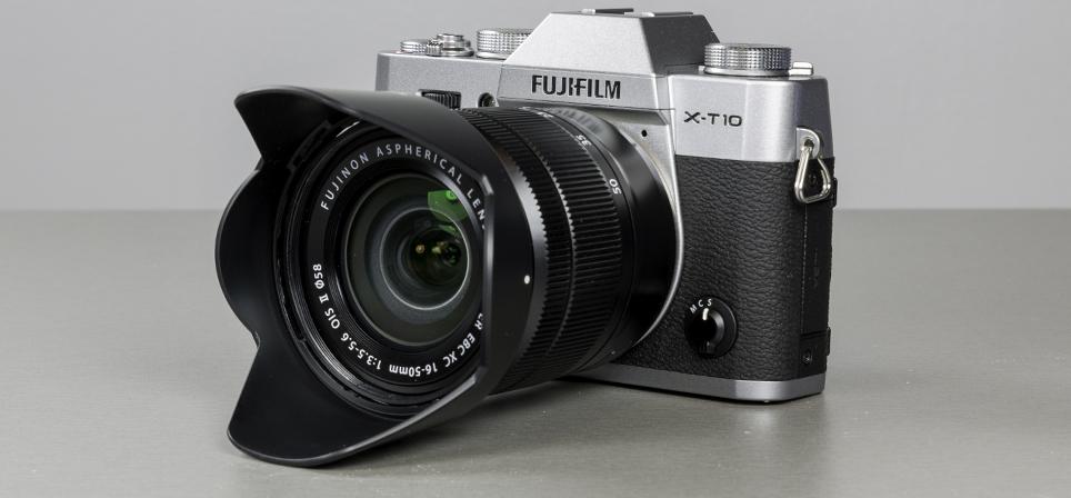 Fujifilm X-T10 – võimeka sisuga kompaktne hübriidkaamera