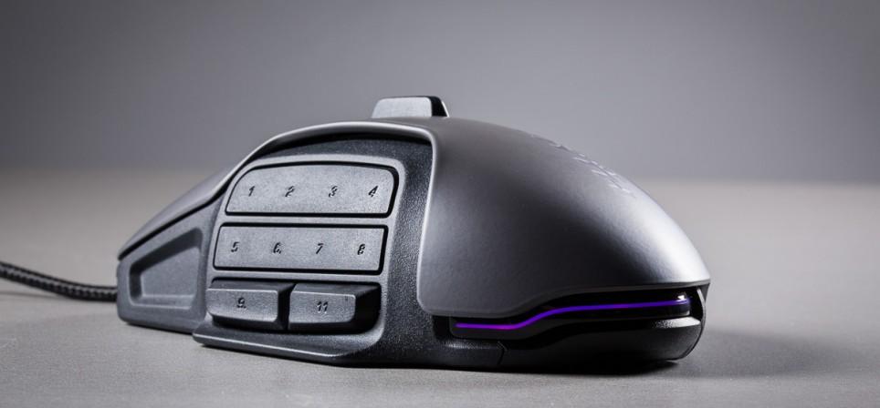 Roccat Nyth – 33 pöidlaklahviga hiir arvutimänguritele