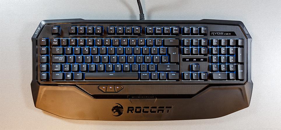 Ryos MK FX tõstab Roccati mehhaaniliste klaviatuuride lati veel kõrgemale