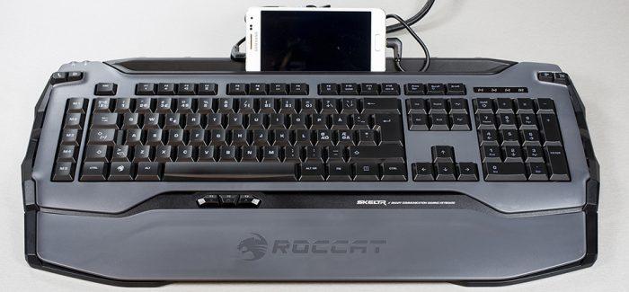 Roccat Skeltr klaviatuur tuleb nutikate lisadega