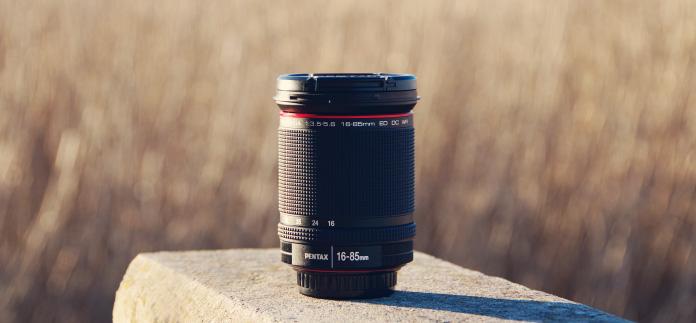 HD Pentax DA 16-85mm f/3.5-5.6 ED DC WR normaalsuumobjektiiv