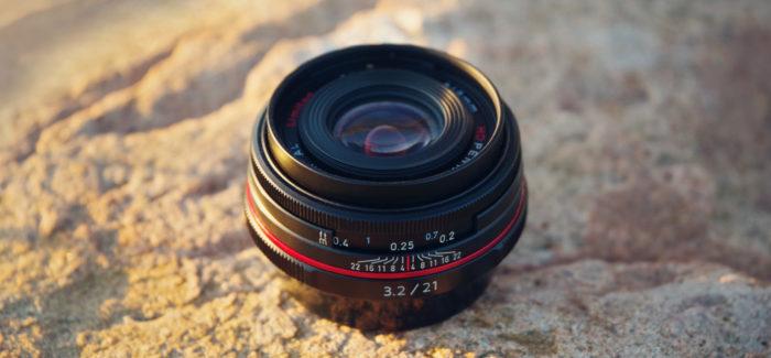HD Pentax DA 21mm f/3.2 AL Limited – väike võimekas pannkook-objektiiv