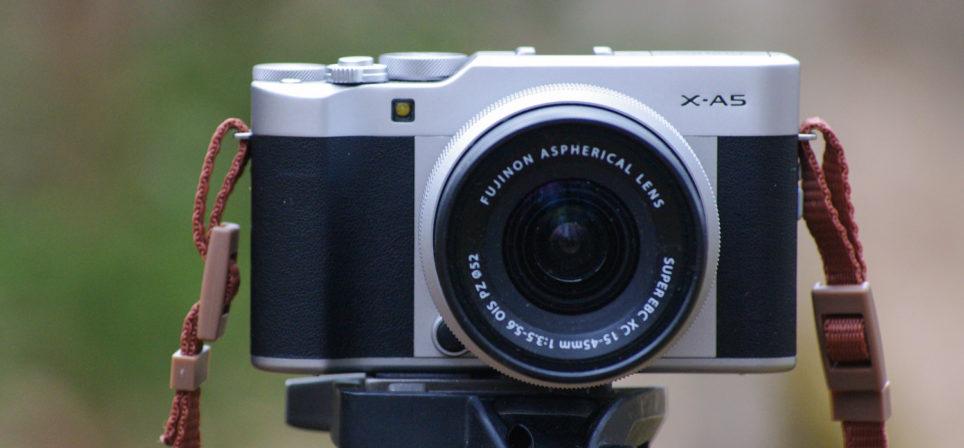 Fuji X-A5 – väike, aga peaaegu väga tubli
