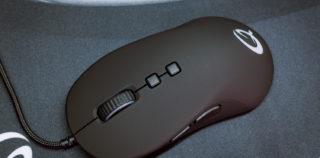 Qpad DX-20 mängurihiir – väike, väle, värviline