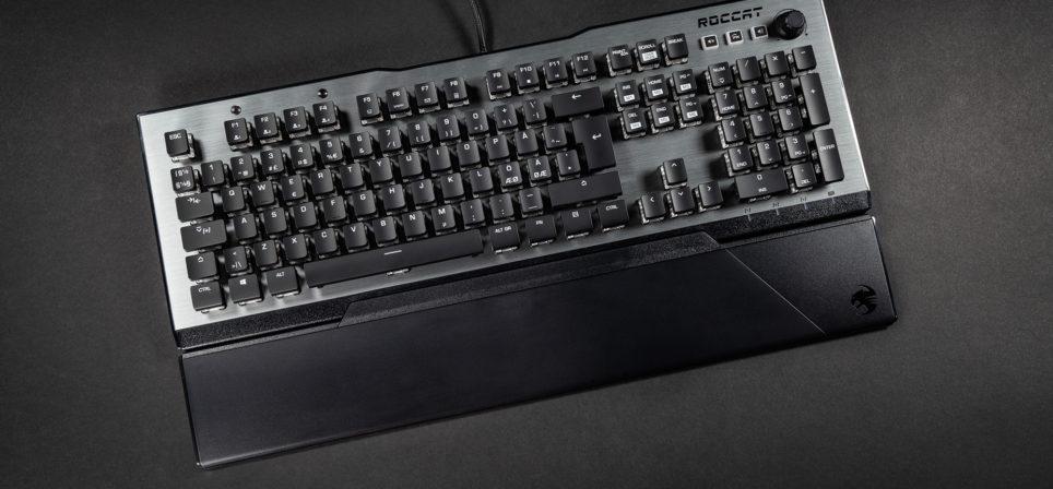 Teraapilise toimega Roccat Vulcan 120 Aimo klaviatuur