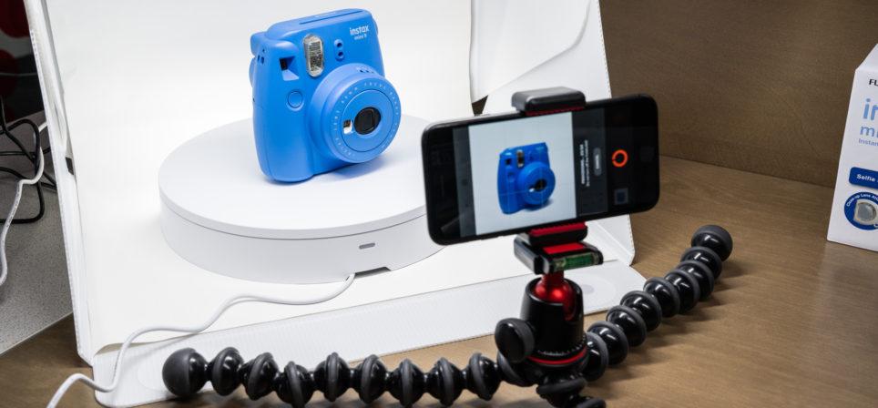 Orangemonkie Foldio360 – pöörlev alus toodete pildistamiseks 360 kraadi