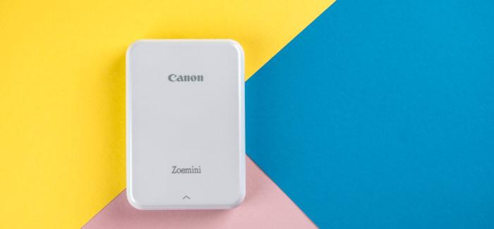 Canon Zoemini fotoprinter – Instagram otse rahakoti vahele