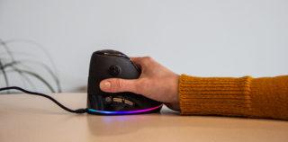 Mehine Speedlink Sovos vertikaalne mängurihiir pikanäpumeestele