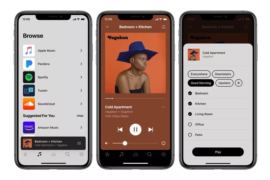 Sonos 2 app