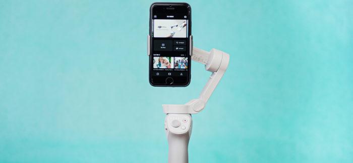 DJI OM 4 on efektiivne lahendus stabiilsete videote loomiseks