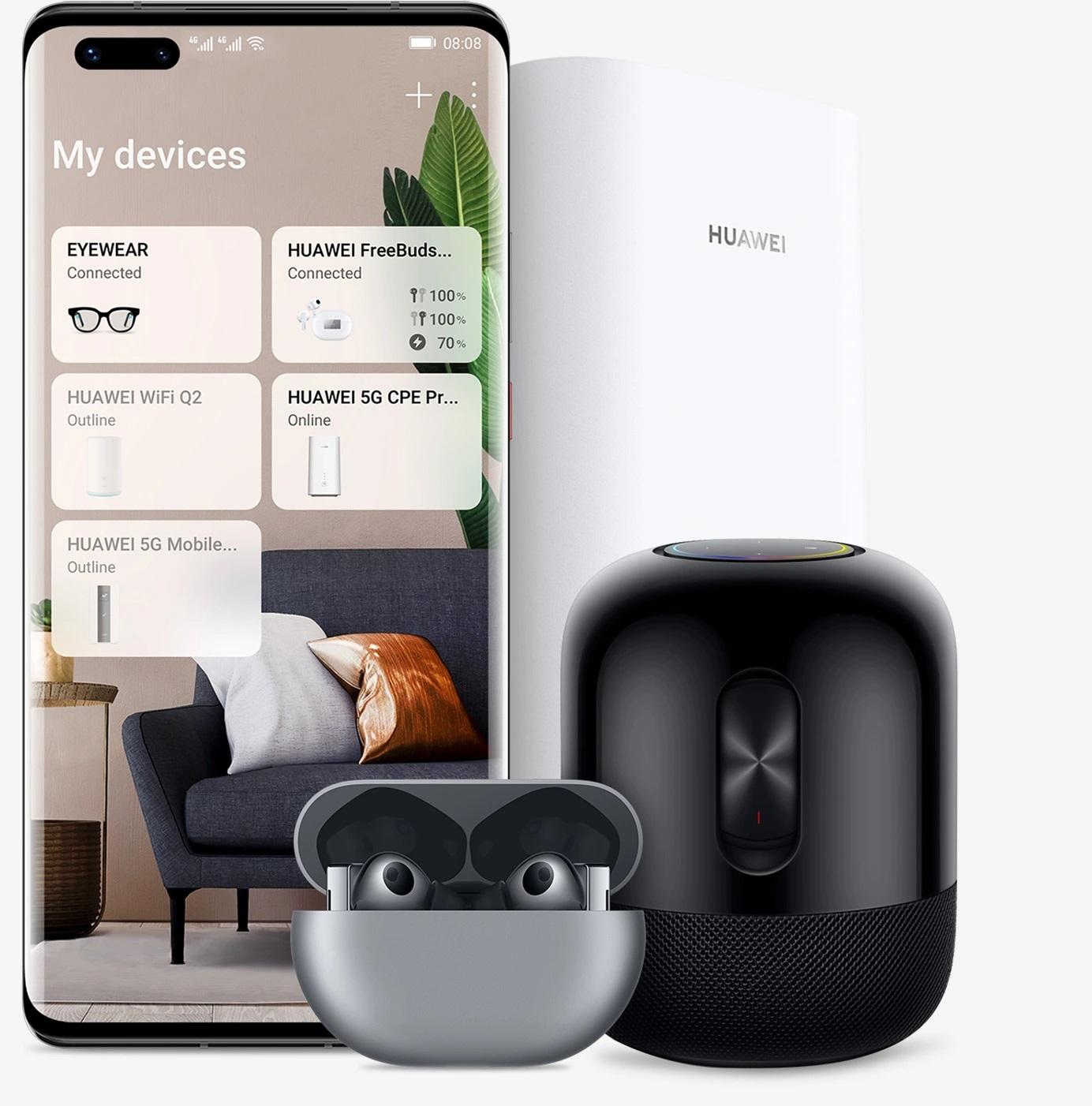 Huawei Freebuds 4 juhtmevabad kõrvaklapid
